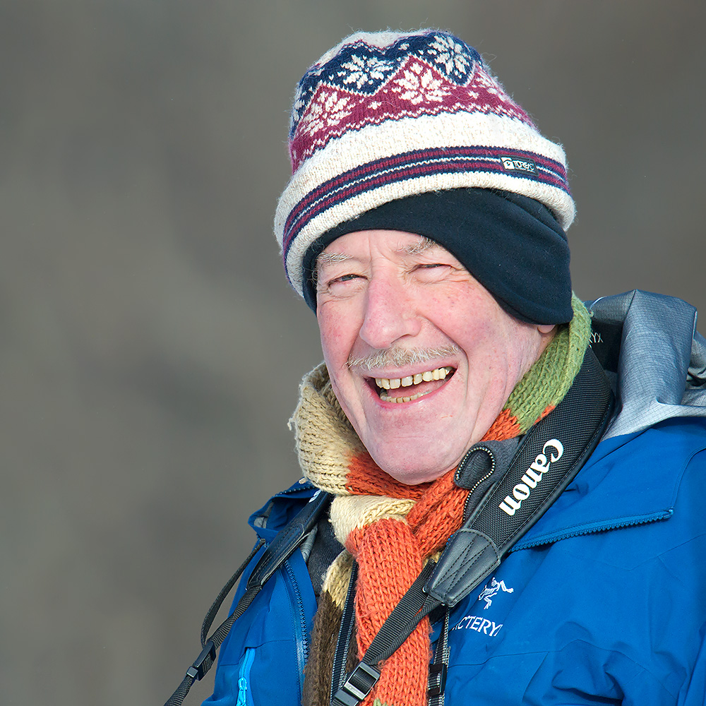 Brian Ivon Jones, an Englishman, a jolly good fellow, and our partner on the winter 2015 Hulunbeier trip.