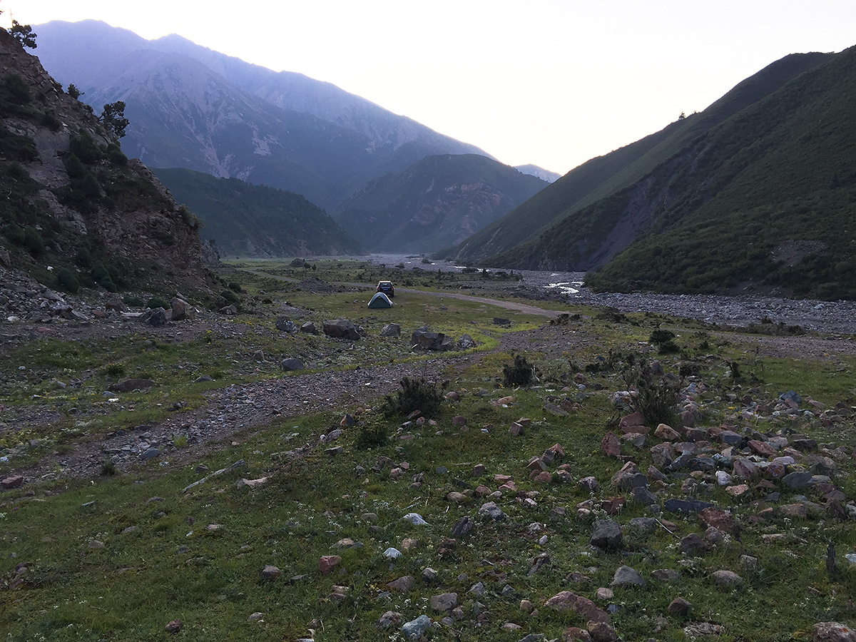 Valley S of Qilian Xiancheng at 38.083892, 100.175667. Elev. 3370 m.