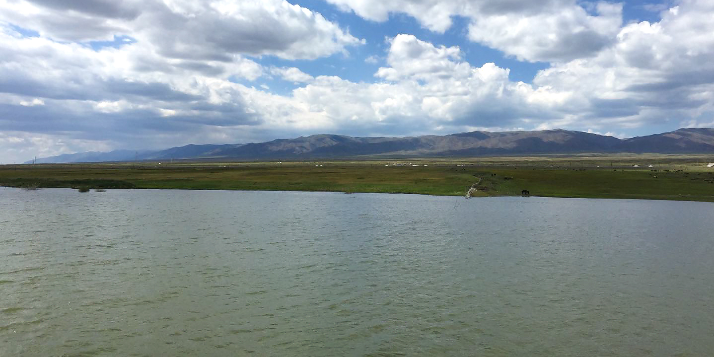 The reservoir at Wutubulake, 24 July 2017. (Jan-Erik Nilsén)