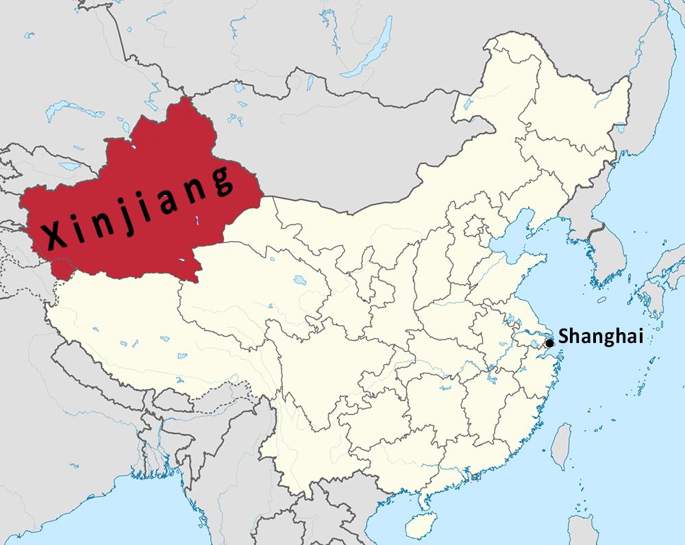 xinjiang (Wikipedia/Craig Brelsford)
