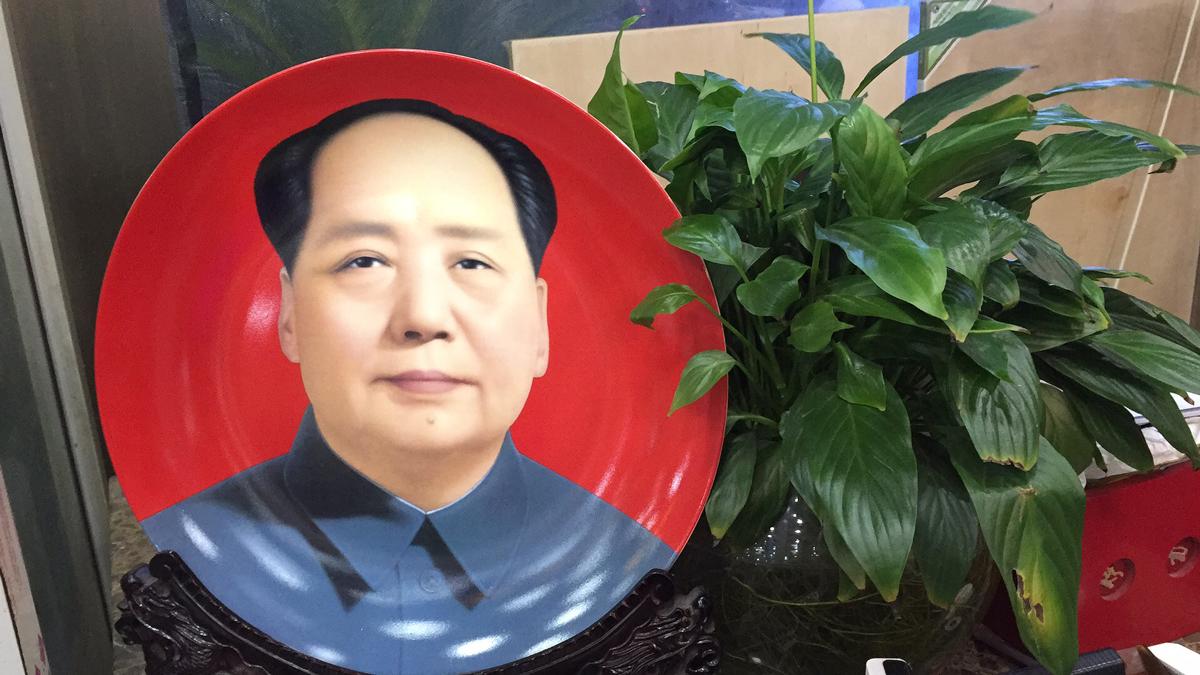 Mao Zedong, restaurant, Urumqi. (Craig Brelsford)