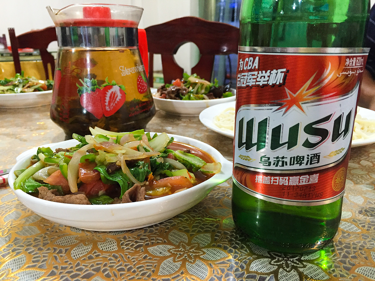 Wusu Beer, northern Xinjiang, July 2017. (Craig Brelsford)